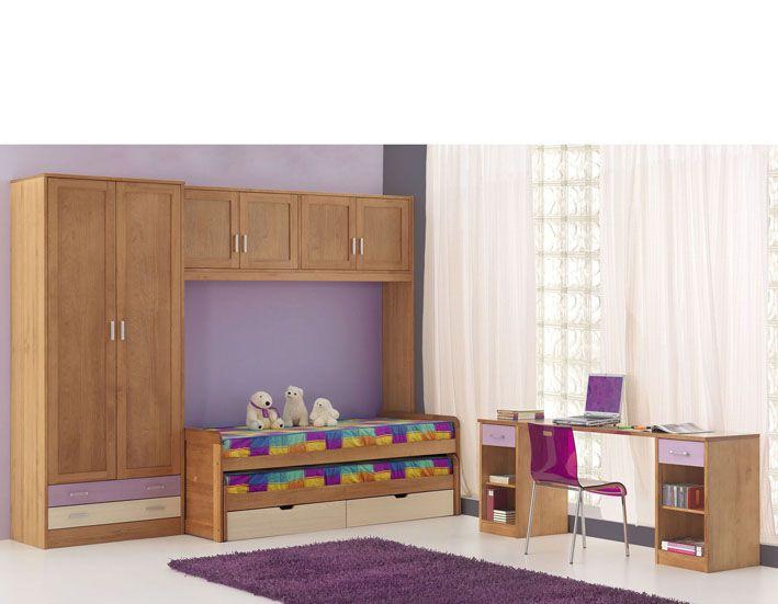 Dormitorio juvenil dormitorios juveniles pinterest for Muebles vila de cambre