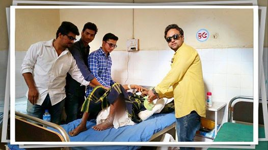 You don't need super power to be a super hero.    A few such good humans found that in themselves and reach out to the ailing patients of CIVIL Hospital, and spend some time with them. They offered food to them and shared their Pain and distributed Hope to them.  An act inspiring, an act worth sharing!  Happy #sevatrend!
