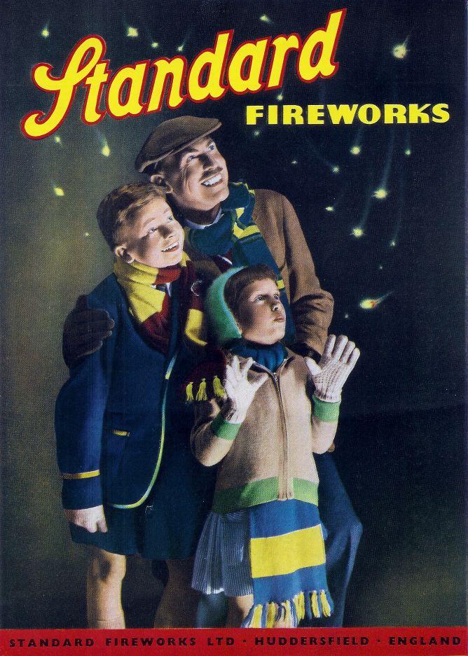 Standard Firework Poster 1960
