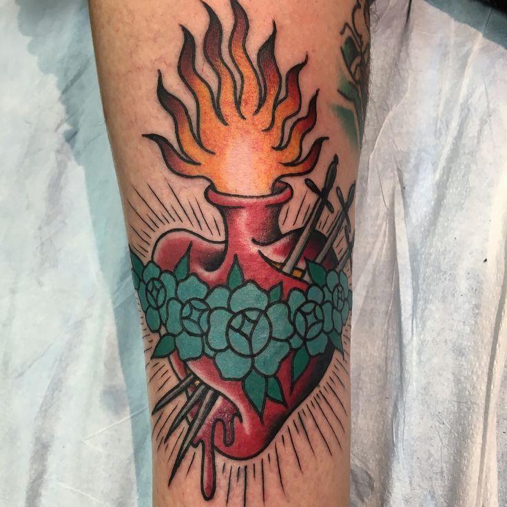 Rose Tattoo In Long Beach Ca