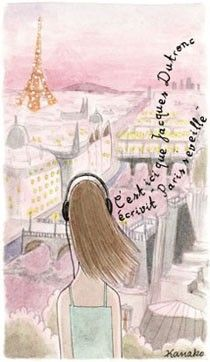 My Little Paris: Je ne veux pas travailler in the morningParisians Chic, Music Paris, Kanako Kuno, Illustration Kanako, De Kanako, Favorite Illustration, Les Parisienne, Paris Illustration, Paris Séveill