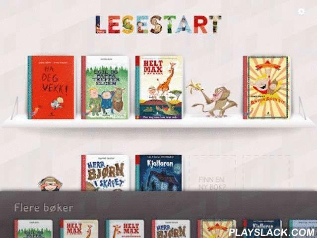Lesestart  Android App - playslack.com , Lesestart er en bokserie for smårollinger som vil lære å lese selv. Bøkene passer først og fremst for barn helt i begynnelsen av grunnskolen og som står i startgropa til å utvikle leseferdigheter. Når barna lærer å lese trenger de øve mye for å bli gode og trygge lesere. I Lesestart finner de enkle bøker skrevet nettopp for barn som skal trene. De korte tekstene utgjør en helhetlig fortelling, og slik opplever barna at de kan lese en hel bok selv…