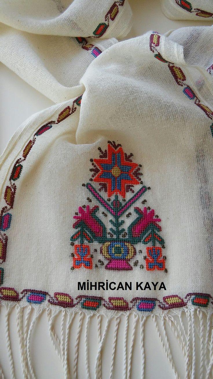 Yöresel dokuma  kumaşa ipek iplikle,  antika hesap işini uyguladım...#embroidery #mywork  #handmade