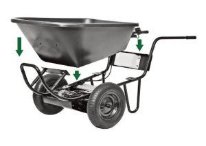 Power Assist Wheelbarrow (PAW), 24V Battery-Operated – Model # 44015  #wheelbarrow #gardening