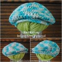 Crochet pattern: donegal golf cap for infant baby boy. Beane, old style cap, '30, thirties style, paperboy, newsboy. Schema tutorial cappello all'uncinetto per bambino: coppola o berretto da piccola canaglia strillone in stile anni '30