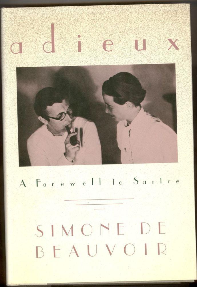 A FAREWELL TO SARTRE  SIMONE DE  BEAUVOIR
