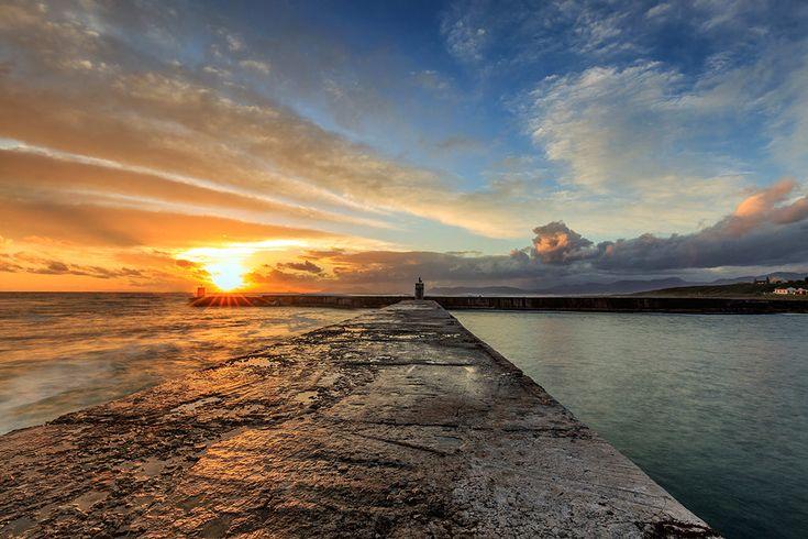 Gansbaai Harbour by Pat Cooper