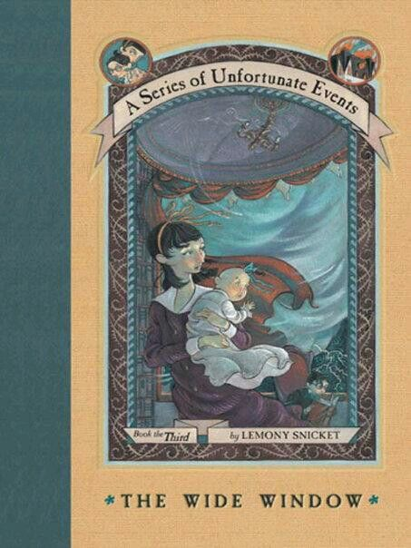 The Series of Unfortunate Events : The Wide Window #lemonysnicket #bookclub
