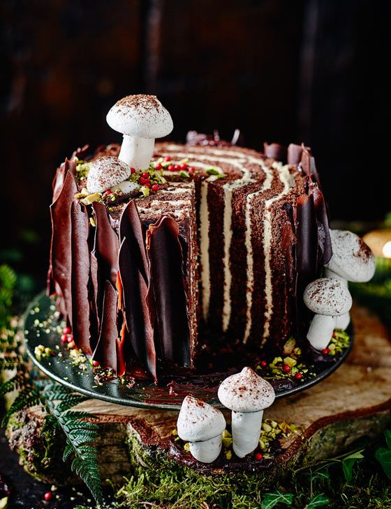 Sainsbury S Party Cake Decorations : 25+ best ideas about Tree stump cake on Pinterest ...