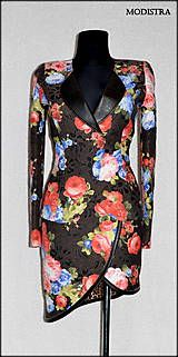 Kabáty - Rozkvitnuté sako - 8131677_