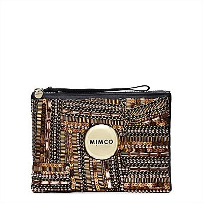 #mimco METRO HUNTRESS - LUMINACIOUS MEDIUM POUCH. Love Mimco/Love this x Pinned By www.facebook.com/TheLifeLinesStudio