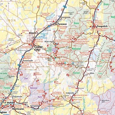 Best Benchmark Folded Maps Images On Pinterest Cards Maps - Utah road map