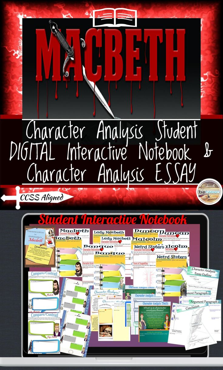 best macbeth short summary ideas shakespeare  shakespeare s macbeth character analysis digital and printable