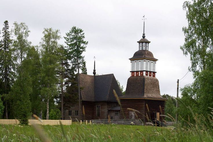 Petäjävesi Old Church, Finland #UNESCO