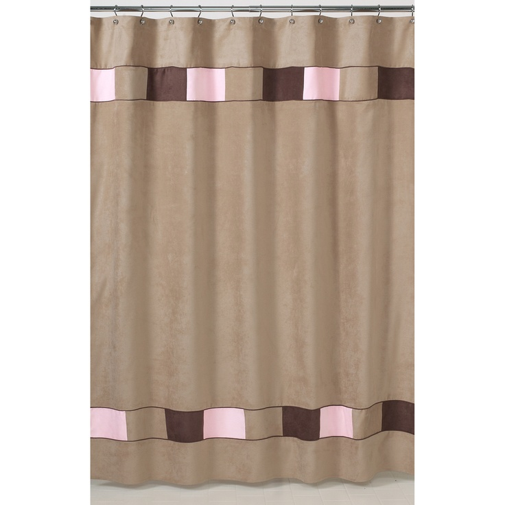 beige and brown shower curtain. Soho Pink and Brown Shower Curtain  Overstock com Best 25 shower curtains ideas on Pinterest