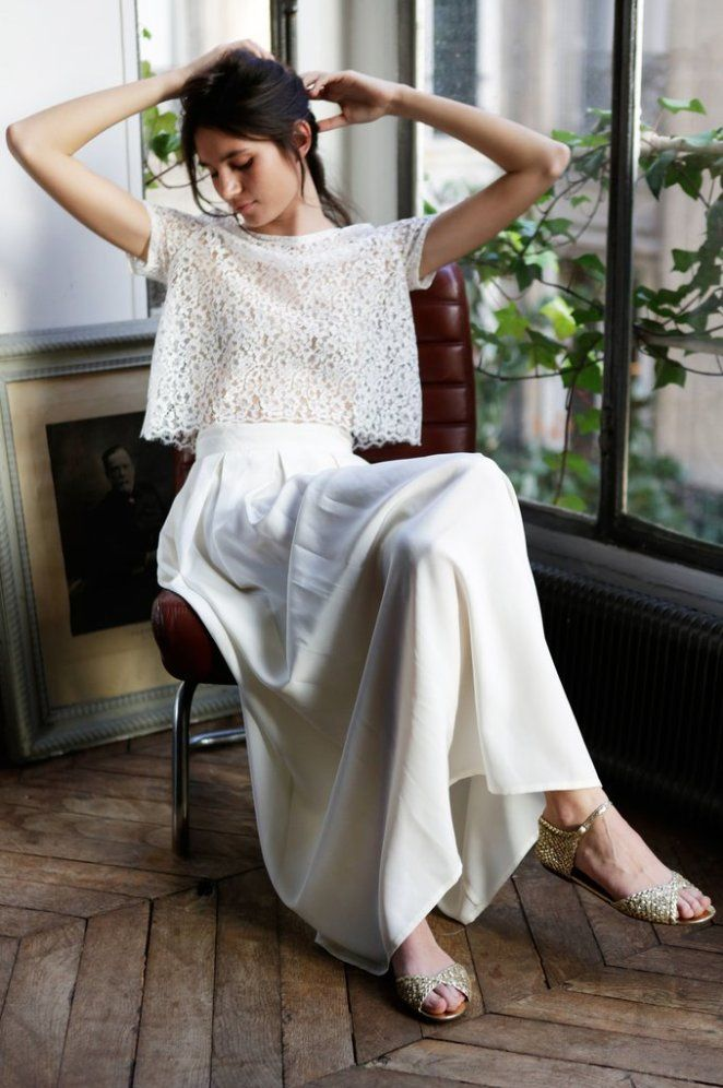 74 robes pour un mariage civil styl et romantique for Concepteurs de robe de mariage australien en ligne