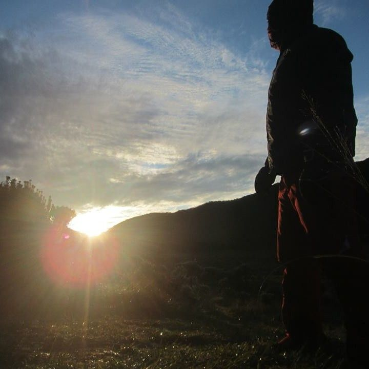Sunrise at mt. Gede - Indonesia