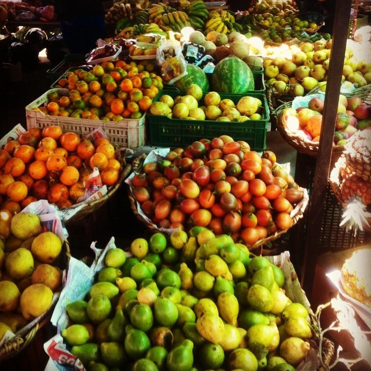 Villa de Leyva, Boyaca, Colombia. Mercado de los sábados.