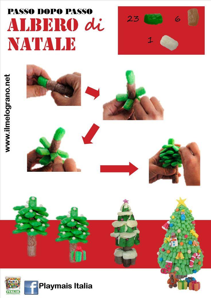 How to Make. Playmais Christmas Tree  http://www.facebook.com/Playmais.italia