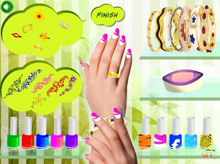 28 Best Nail Design Games Images On Pinterest Nail Design Games