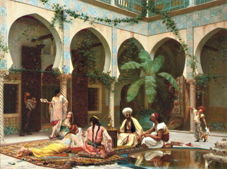 Boulanger, Gustave, (1824-1888), Harem du Palais