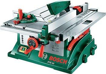 Sierra de mesa Bosch PTS 10                                                                                                                                                                                 Más