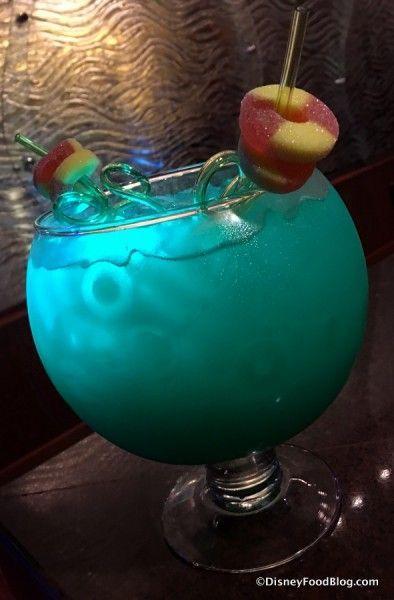 Seven Seas Lagoon at the Contemporary Resort - Disney cocktail!