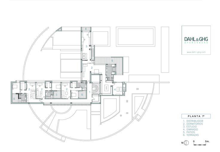 House in La Moraleja / Dahl Architects + GHG Architecs | #house plan
