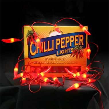 Party Lights 'Chilli Pepper' - bij Axeswar Design Gent