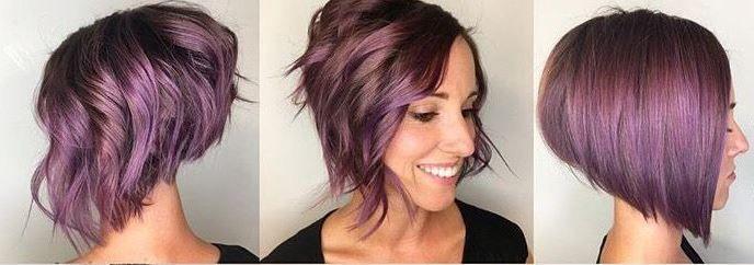Non crederai mai cosa ce sotto i suoi capelli corti viola – tagli 2017