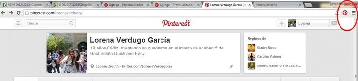 Captura Botón Pinterest. #Pineando.
