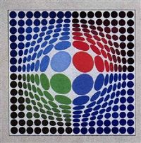 Sin-Lag by Victor Vasarely