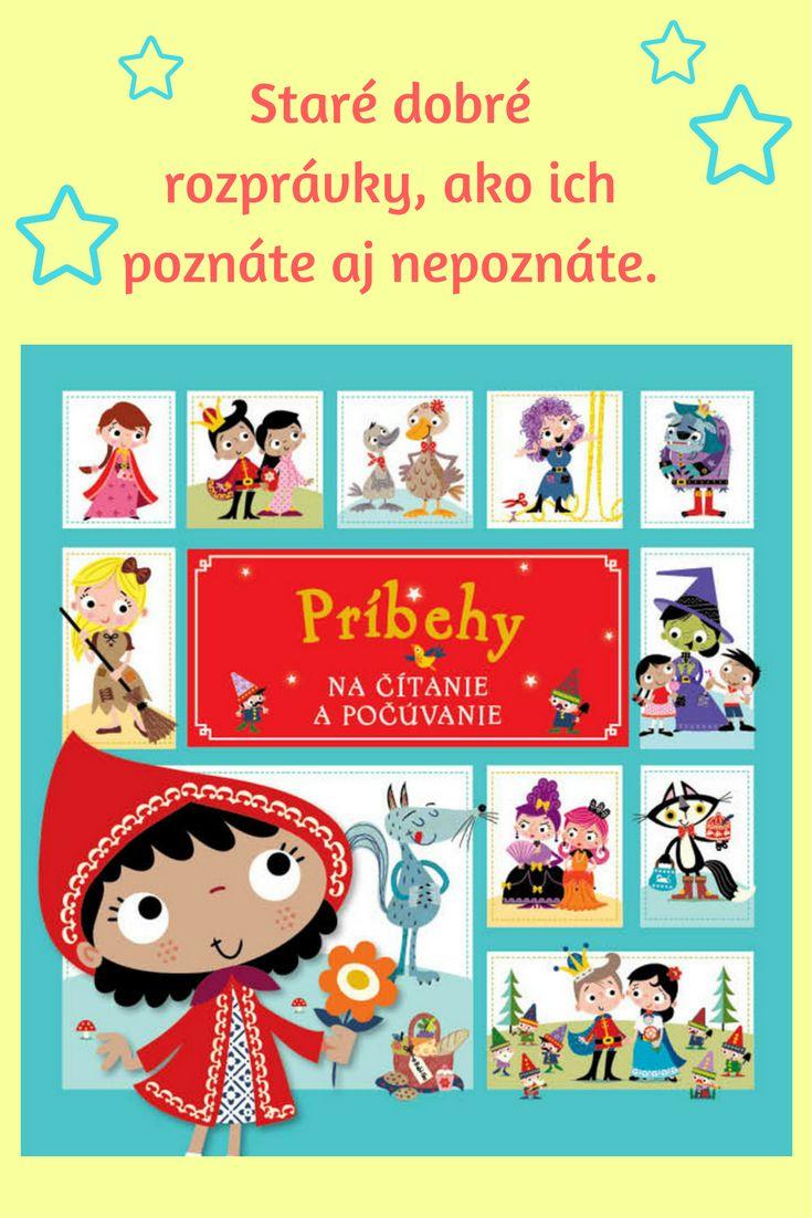 Vtipne prerozprávané známe rozprávky, s krásnymi ilustráciami, na čítanie i počúvanie – ideálna knižka na spoločné čítanie s deťmi. #rozpravky #deti #kniha #citanie