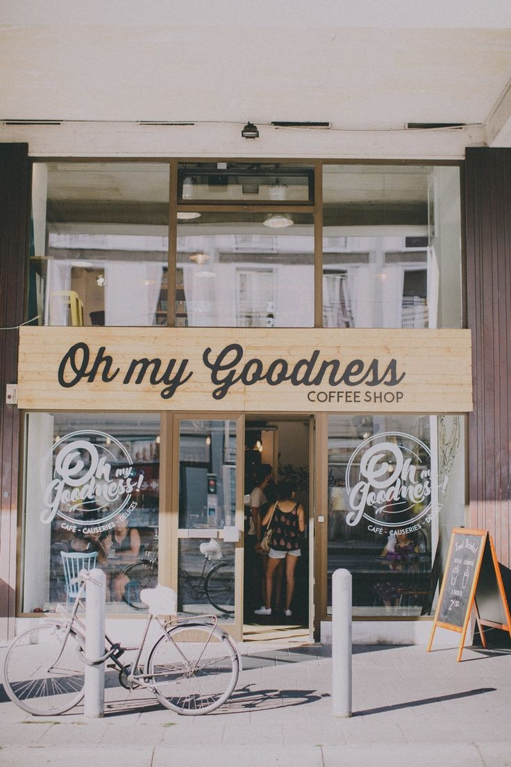 Car sticker design shop - Oh My Goodness Coffee Shop In Strasbourg City Travel Wanderlust
