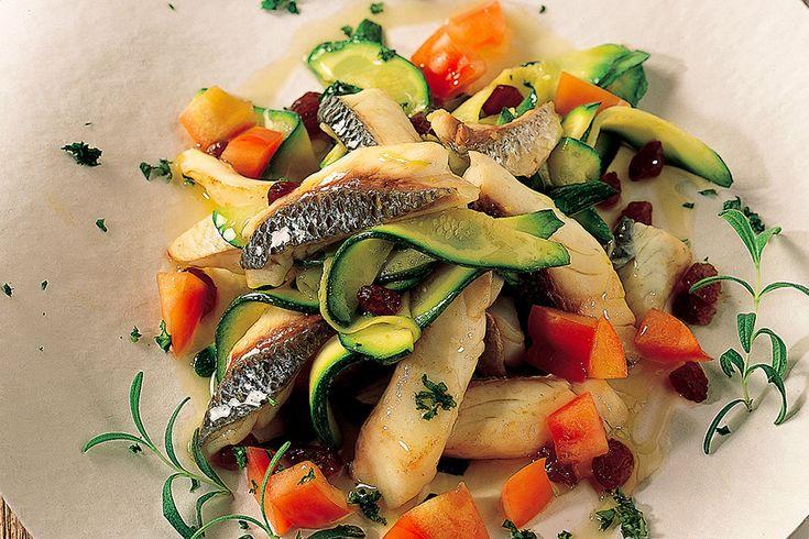 Filettini di orata con zucchine
