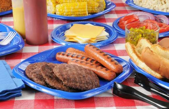 Unhealthiest Cookout Foods