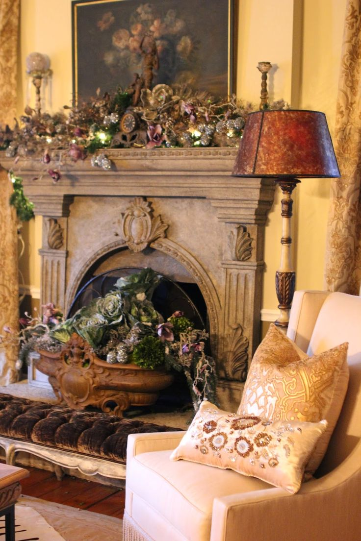Romancing The Homeby The Fire  Christmas