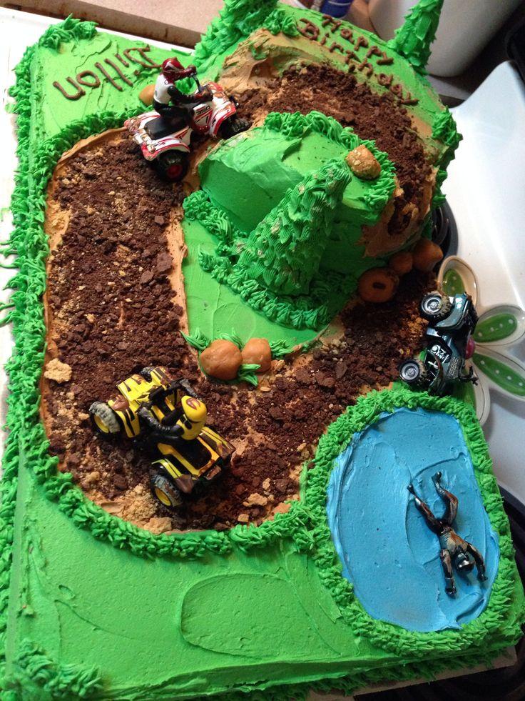 Best 25 4 Wheeler Cake Ideas On Pinterest Camo Baby