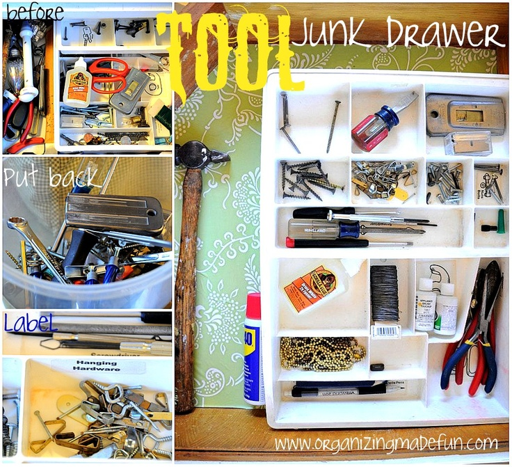 Cool Things To Put In A Basement: 25+ Best Ideas About Junk Drawer Organizing On Pinterest