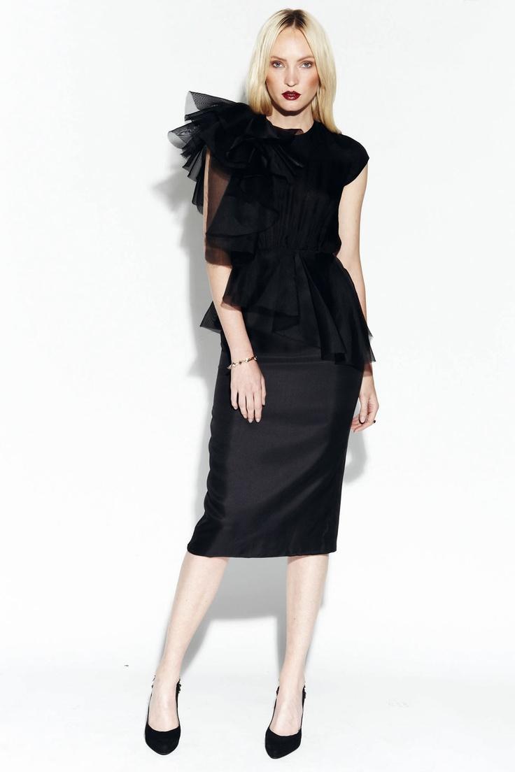 Extreme Plaisir Dress, kaviar gauche