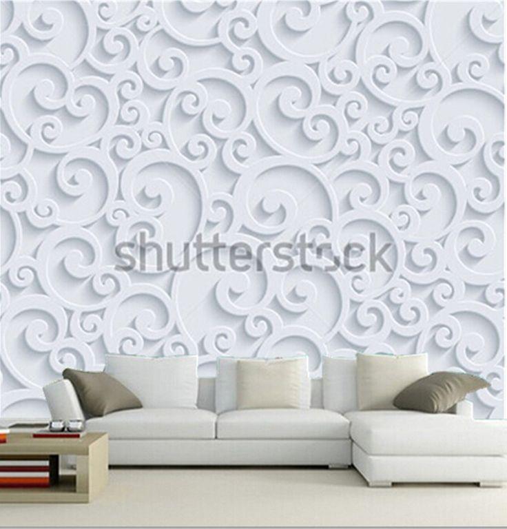Обычай 3D фрески, Цветочный 3D фон вихревой дизайн papel де parede, Гостиной диван телевизор стены спальнякупить в магазине Kiky house's wallpaperнаAliExpress