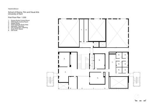School Of Arts In Canterbury,plan 02