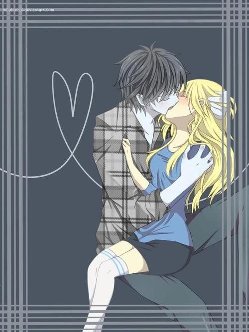 Passionate kiss <3 Marshall Lee and Fiona