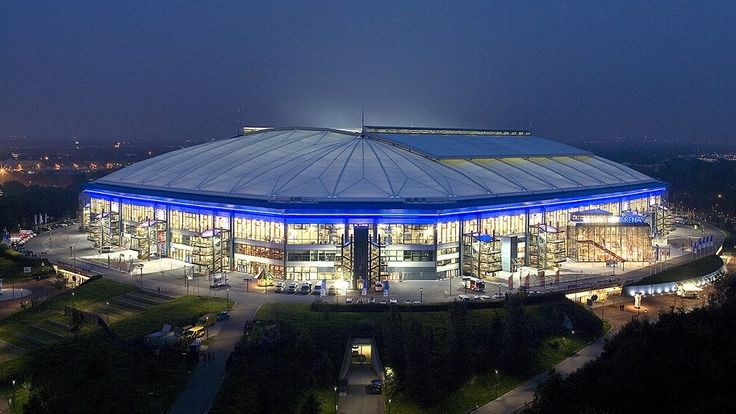 Veltins Arena, Home of FC Schalke 04 — What an amazing stadium !!!