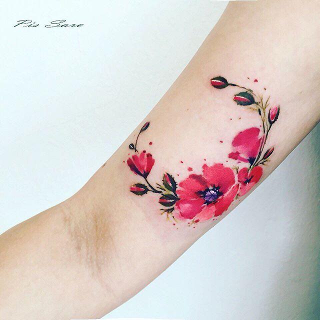 Pin for Later: Ces Incroyables Tatouages Inspirés Par les Plantes Ont L'air Plus Vrais Que Nature