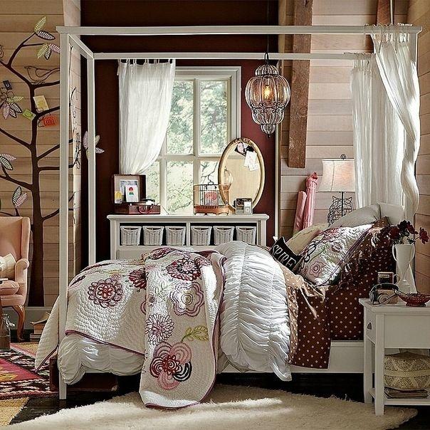 комната в романтическом стиле, очень понравится