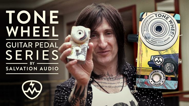 Richard Fortus about ToneWheel Boost pedal by Salvation Audio (www.salvationaudio.com)   #SalvationToneWheel #ToneWheel #RichardFortus #GunsnRoses #TheDeadDaisies #skateboard #booster