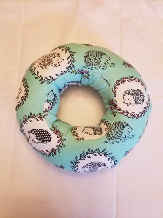 Check Out This Item In My Etsy Shop Https Www Etsy Com Listing 673438837 Piercing Pillow Ear Pillow Donut Pillow P Donut Pillow Handmade Piercings For Girls