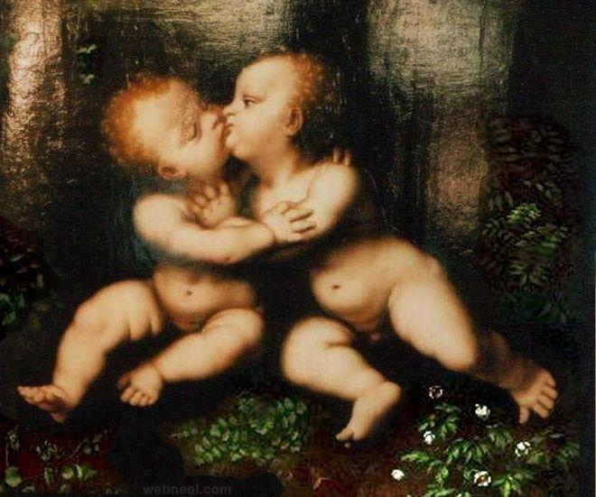 paintings of leonardo da vinci