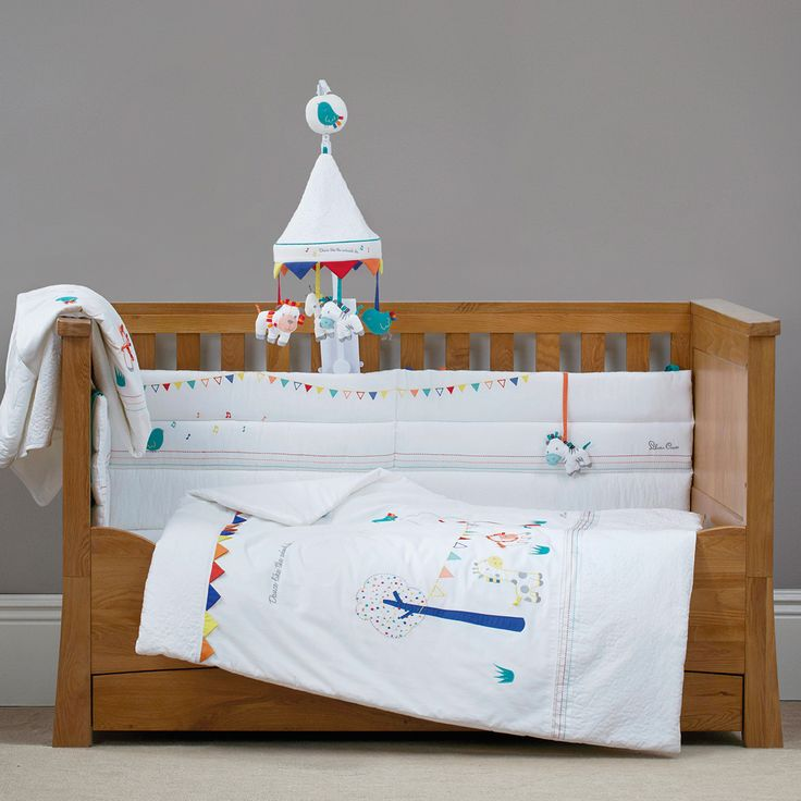 Zoobaloo Is The New Nursery Bedding Set From Silver Cross 7 Piece Collection Cot Bed